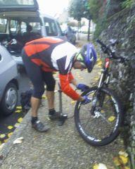 vélo,vtt,déluge,ronde de la châtaigneraie,dériv'chaînes