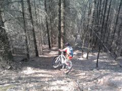 vélo,vtt,championnats du cantal vtt,nature,technique,entraînement