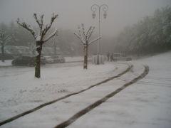 vélo,vtt,pastourelle,intempéries,neige,drôleries climatiques